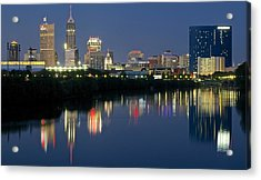 Indianapolis Night Acrylic Print