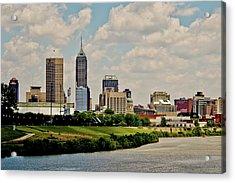 Indianapolis Skyline 25 Acrylic Print