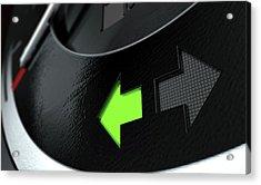 Indicator Dashboard Lights Acrylic Print
