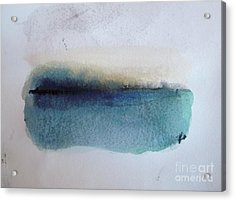 Indigo Blue Acrylic Print