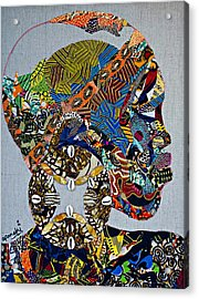 Indigo Crossing Acrylic Print