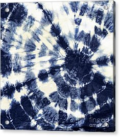 Indigo Iv Acrylic Print by Mindy Sommers