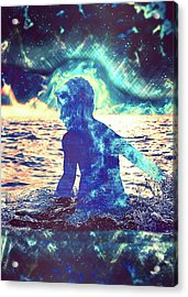 Indigo Acrylic Print