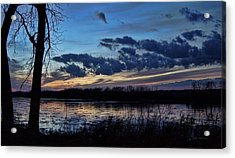 Acrylic Print featuring the photograph Indigo Skies by Cricket Hackmann