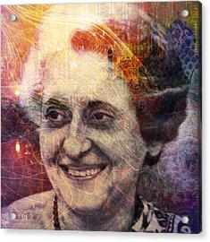 Indira Acrylic Print