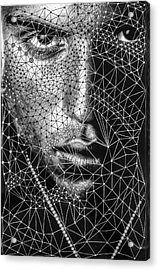 Acrylic Print featuring the mixed media Individuality Of The Self by Maria Lankina