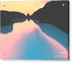 Indonesian Crater Lakes II Acrylic Print by Gaspar Avila
