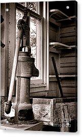 Indoor Plumbing Acrylic Print