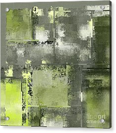 Industrial Abstract - 11t Acrylic Print