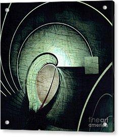 Industrial Arch Grey Acrylic Print