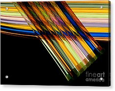 Industrial Art Acrylic Print by Jerry McElroy