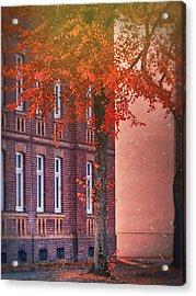Industrial Autumn Acrylic Print by Nicole Frischlich