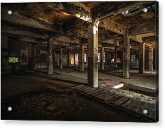 Industrial Catacombs Acrylic Print