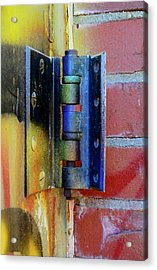 Acrylic Print featuring the photograph Industrial by Corinne Rhode