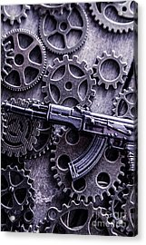 Industrial Firearms  Acrylic Print by Jorgo Photography - Wall Art Gallery