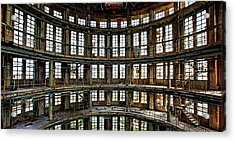 Acrylic Print featuring the photograph Industrial Heritage - Urban Exploration by Dirk Ercken
