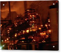 Industrial Nights✴ Steam Punk Acrylic Print