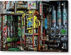 Industrial Steampunk Acrylic Print