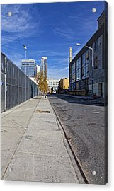 Industrial Street Acrylic Print by Robert Ullmann