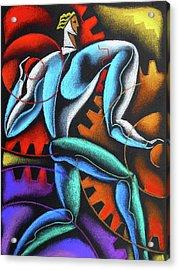 Industry And Labor Acrylic Print by Leon Zernitsky