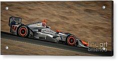 Indycar 2015 Acrylic Print by Webb Canepa