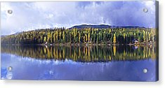 Acrylic Print featuring the photograph Inez Lake Montana by Janie Johnson