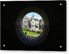 Infante Dom Henrique Square Acrylic Print by Marco Oliveira