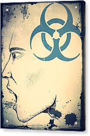 Infectious Substance Acrylic Print by Paulo Zerbato