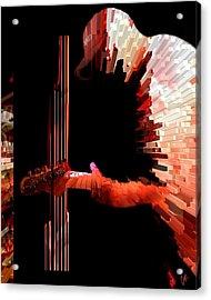 Inferno Acrylic Print by Ken Walker