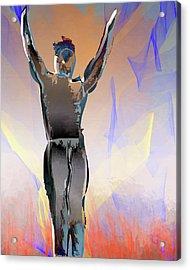 Inferno Survivor Acrylic Print by Eduardo Tavares