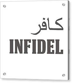 Infidel Acrylic Print by Linda Bissett