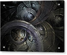 Infinite On-ramps Acrylic Print by David April