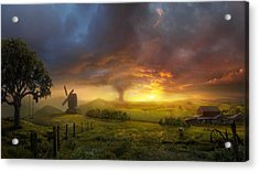 Infinite Oz Acrylic Print by Philip Straub