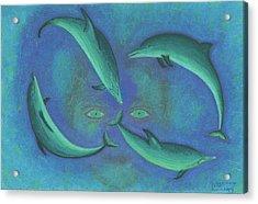 Infinity 4 Third Eye Acrylic Print