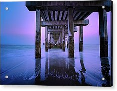 Infinity Acrylic Print by Edgars Erglis
