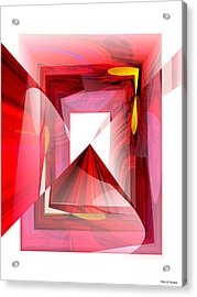 Infinity Tunnel  Acrylic Print by Thibault Toussaint