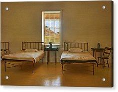 Infirmary - Fort Larned - Kansas Acrylic Print