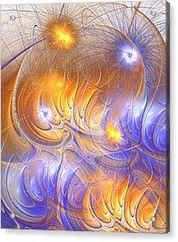 Influence Acrylic Print by Anastasiya Malakhova