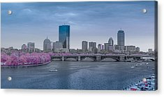 Infrared Boston Acrylic Print