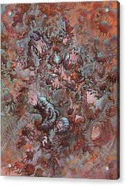 Infuriated  Acrylic Print by Ethan Harris