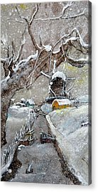 Acrylic Print featuring the painting Inges Netherlands by Debbi Saccomanno Chan