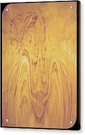 Ingrained Acrylic Print by Leslie Rhoades