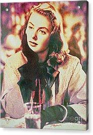 Ingrid Bergman - Movie Legend Acrylic Print