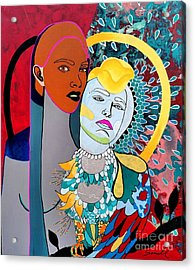 Inhaled Soul Acrylic Print by Amy Sorrell