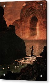 Initiation Acrylic Print by Cambion Art