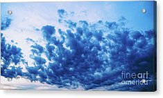 Acrylic Print featuring the photograph Ink Blot Sky by Colleen Kammerer