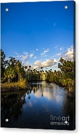 Inlet Cove Acrylic Print by Marvin Spates