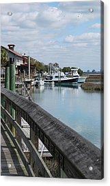 Inlet Fishing Fleet Acrylic Print