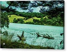 Inlet Acrylic Print