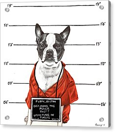 Inmate Acrylic Print